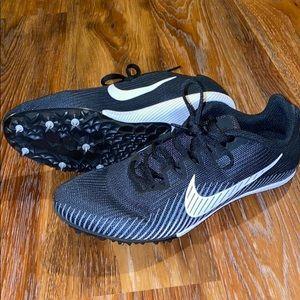 Womens Nike Rival Sz 6 Black Track & Field Cleats